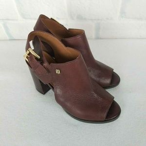 Tommy Hilfiger Leather Booties Size 6M